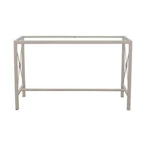 Overstock Overstock White Entry Table nj