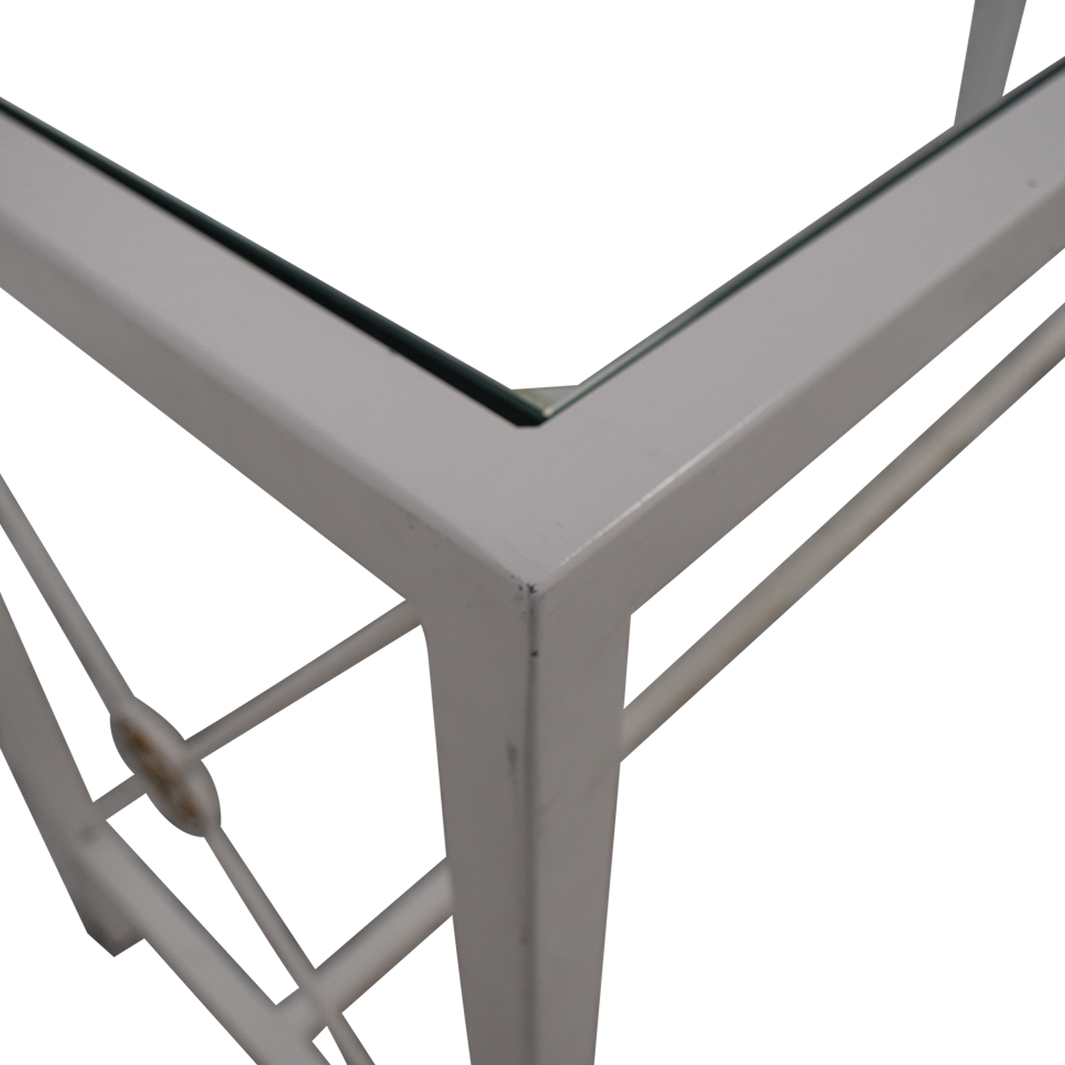 Overstock Overstock White Entry Table white