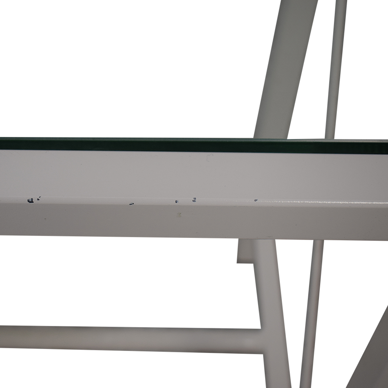 Overstock Overstock White Entry Table on sale
