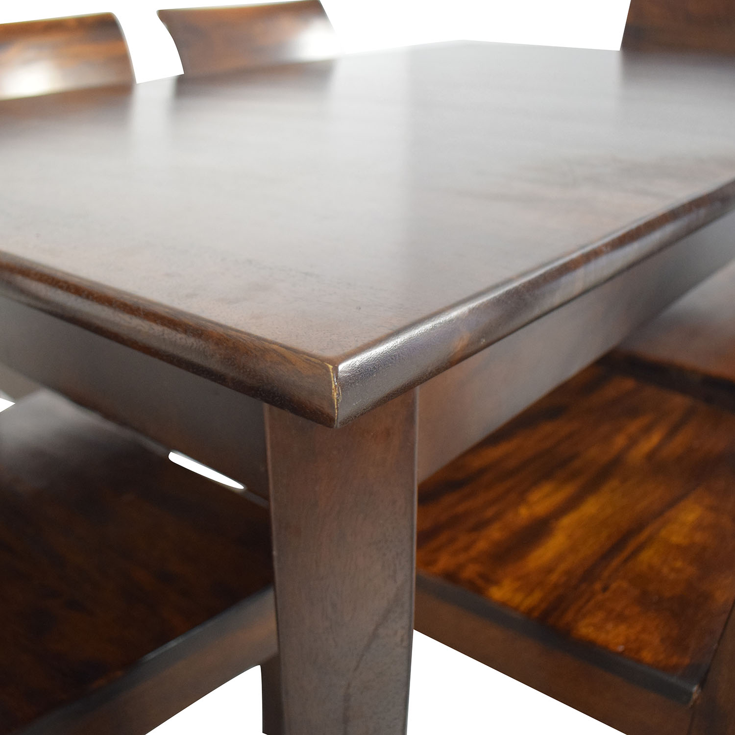 Crate & Barrel Crate & Barrel Cabria Table Dining Set