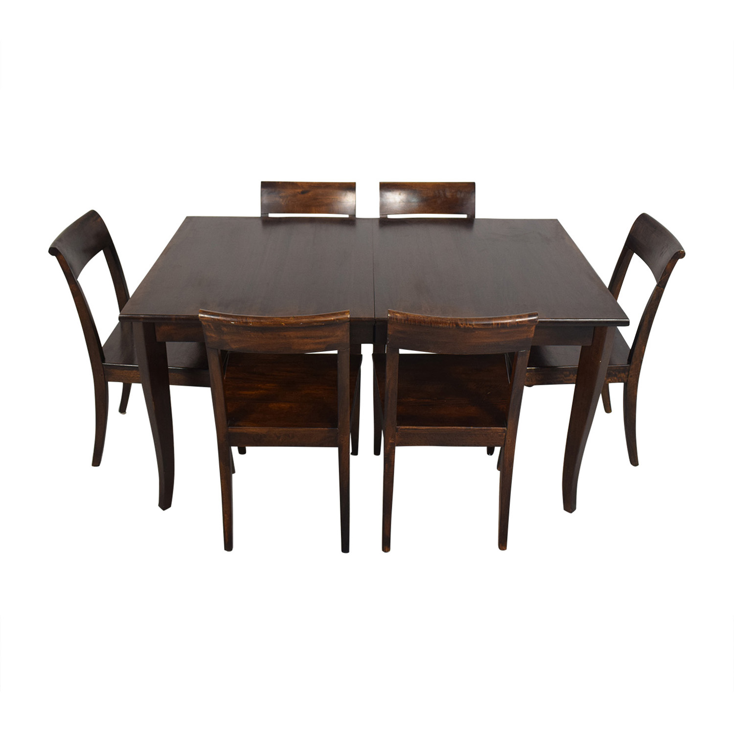 Crate & Barrel Crate & Barrel Cabria Table Dining Set nj