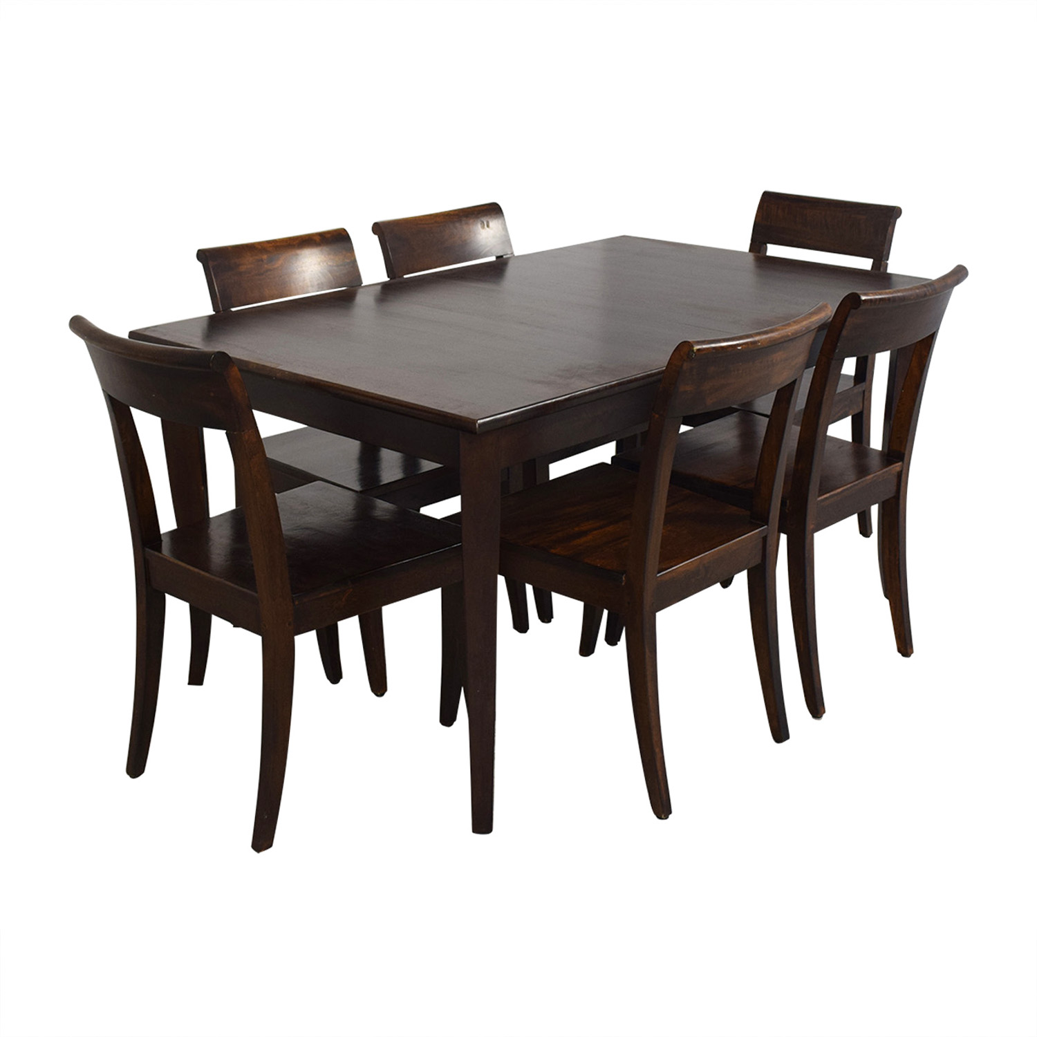Crate & Barrel Cabria Table Dining Set sale