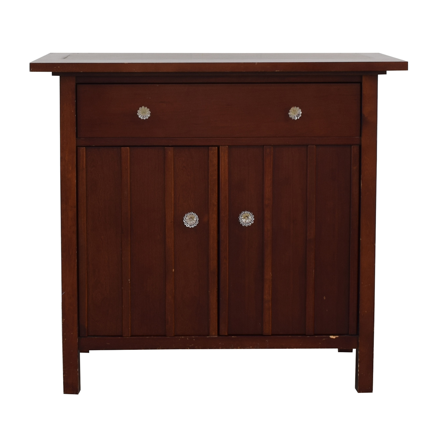 Crate & Barrel Cabinet sale