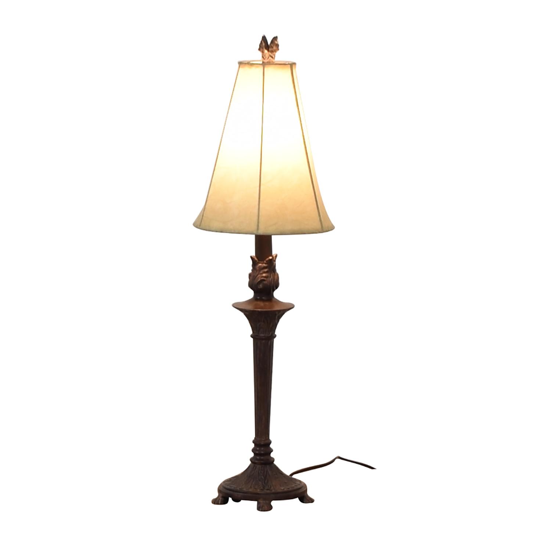 Bed Bath & Beyond Bed Bath & Beyond Brown Table Lamp dimensions