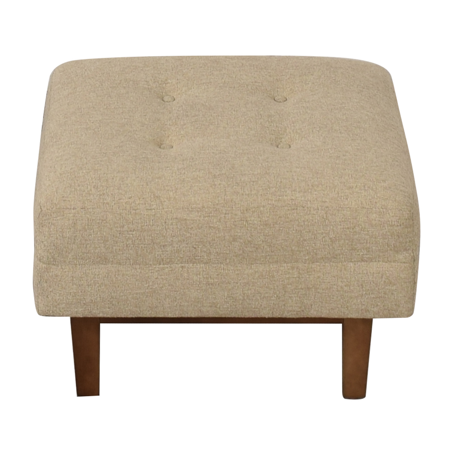 buy  Rowe Furniture Ethan Beige Tufted Ottoman online