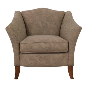shop Thomasville Grey Accent Chair Thomasville