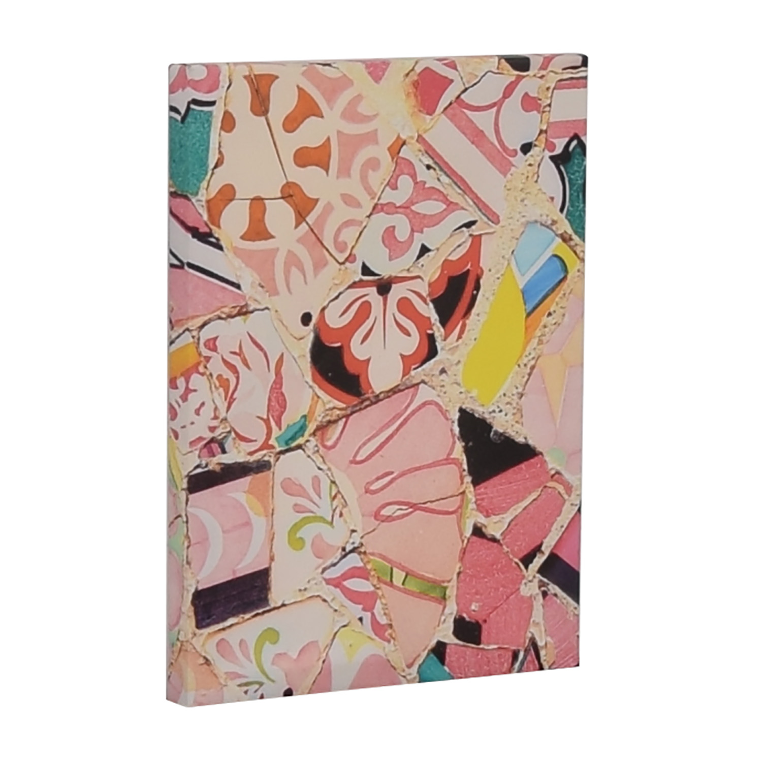 buy  Multi-Colored Crushed Tile Print online