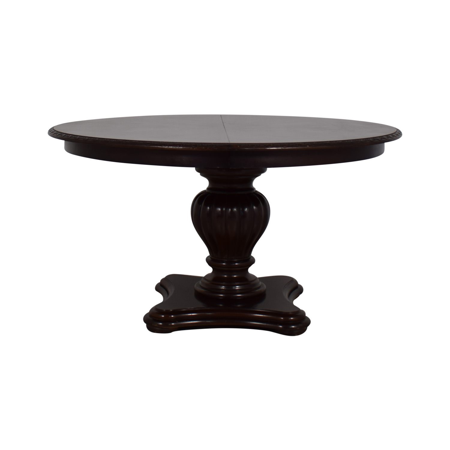 Bernhardt Bernhardt Extendable Pedestal Dining Table on sale