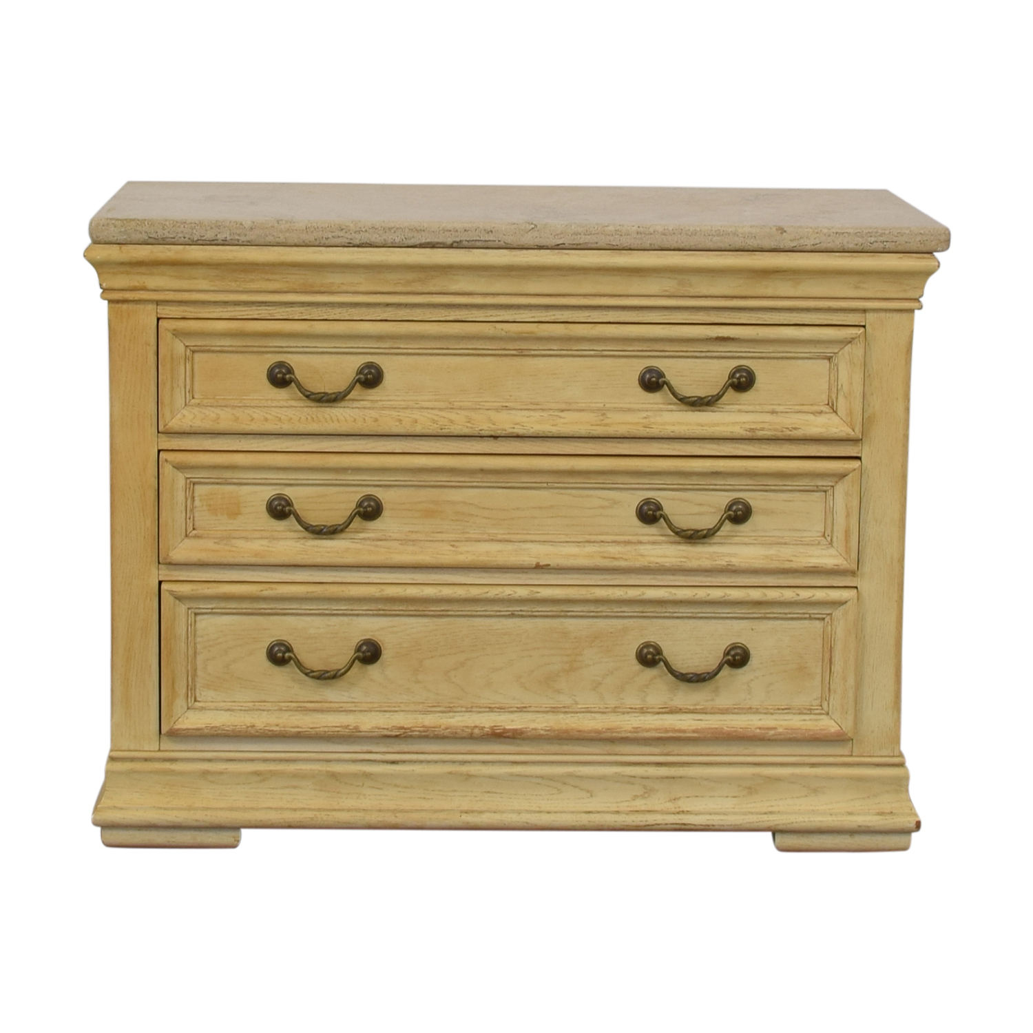 Bernhardt Bernhardt Natural Three-Drawer Dresser second hand