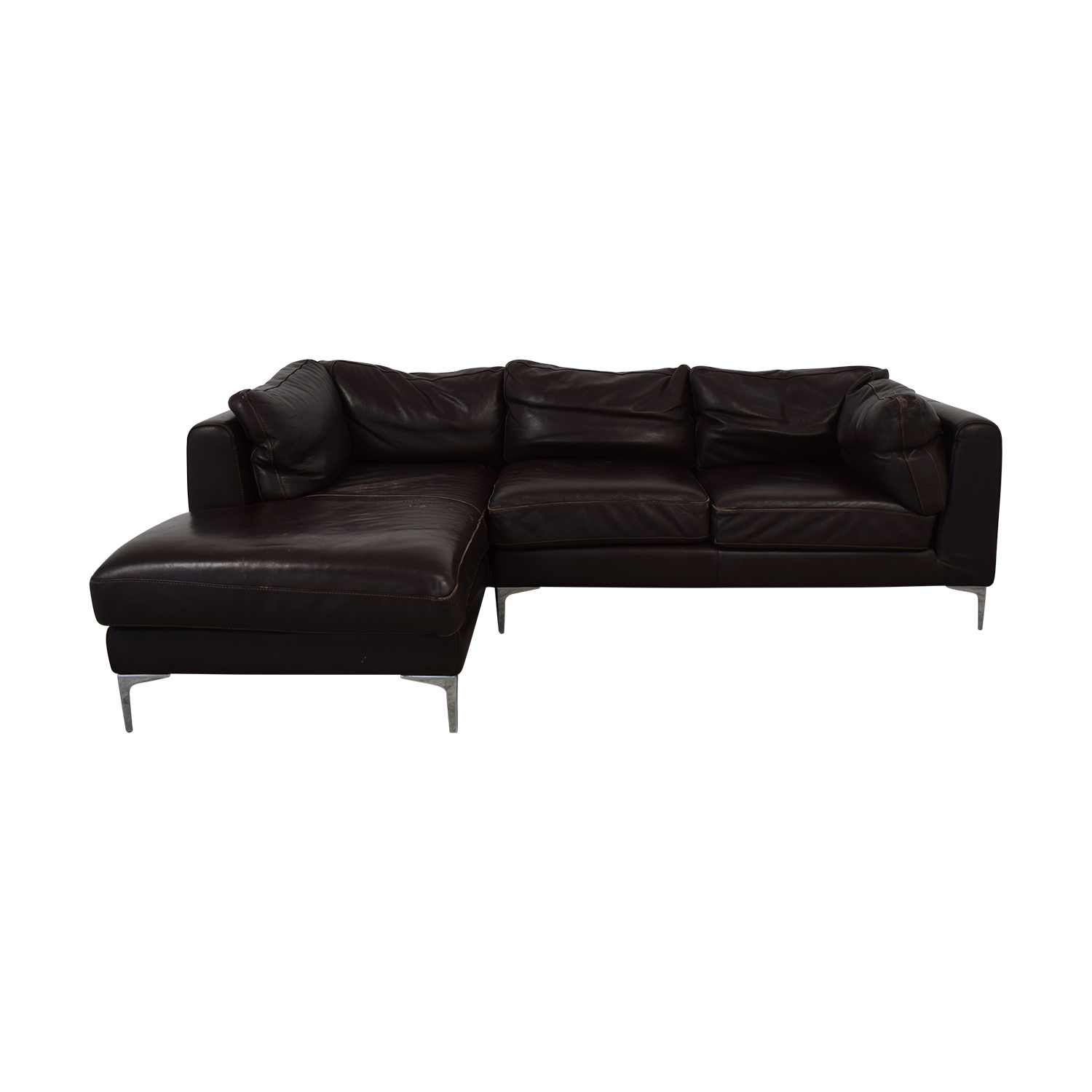 Nicoletti Home Chaise Sectional Nicoletti Home
