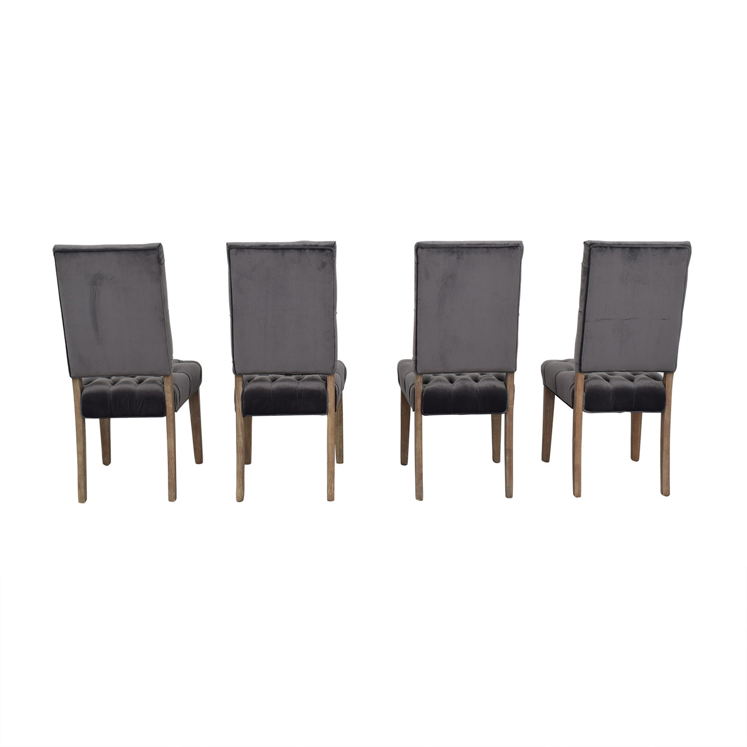 Classic Concepts Classic Concepts Onyx Tufted Dining Chairs Onyx