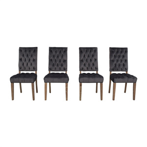 Classic Concepts Classic Concepts Onyx Tufted Dining Chairs nj