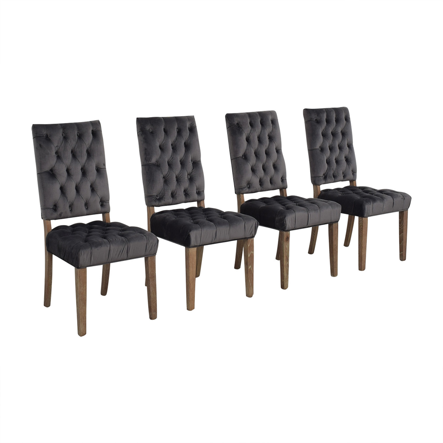 Classic Concepts Onyx Tufted Dining Chairs Classic Concepts