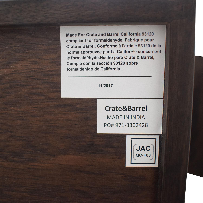Crate & Barrel Crate & Barrel Steppe Nightstands End Tables