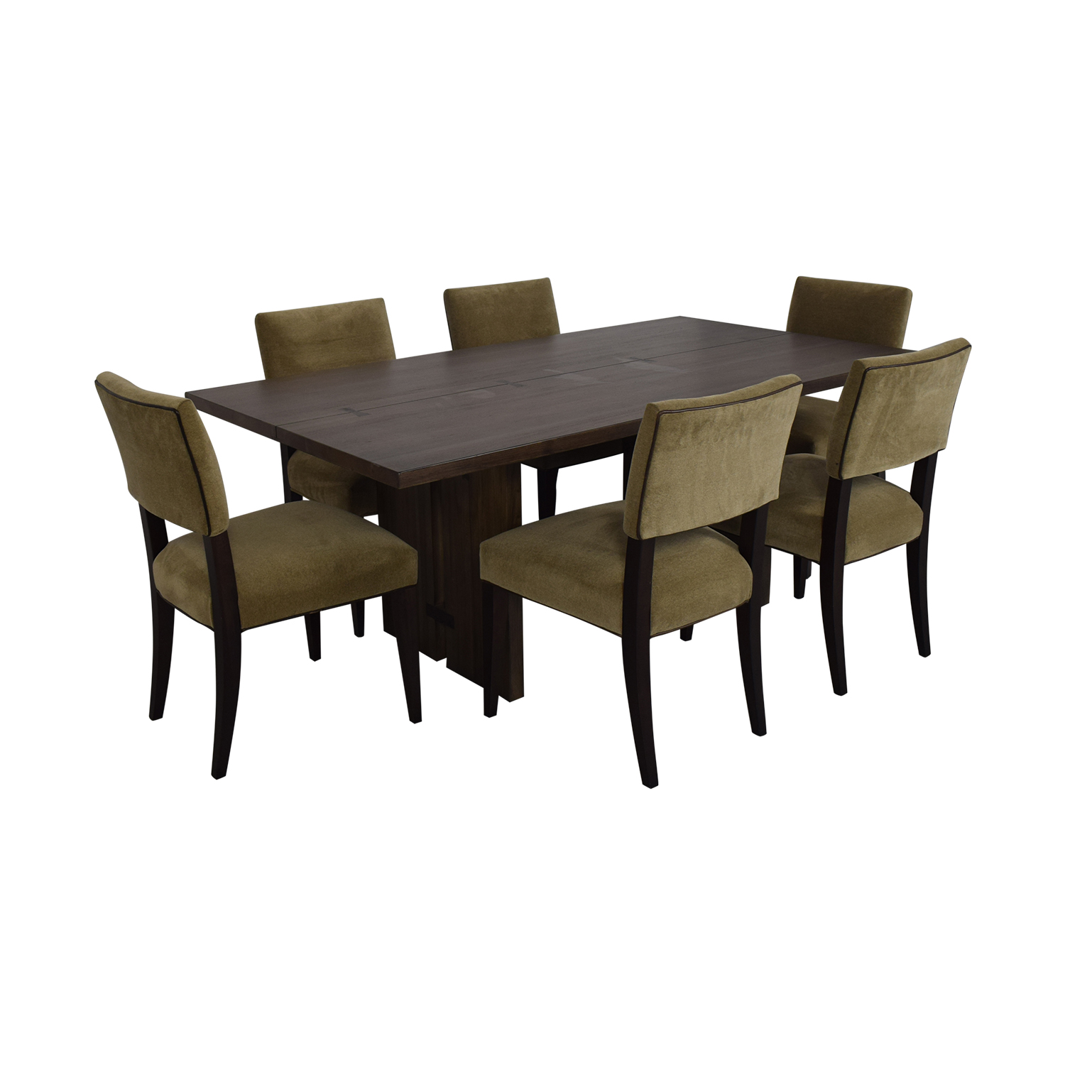 Crate & Barrel Crate & Barrel Monarch Dining Table and Cody Dining Chairs coupon