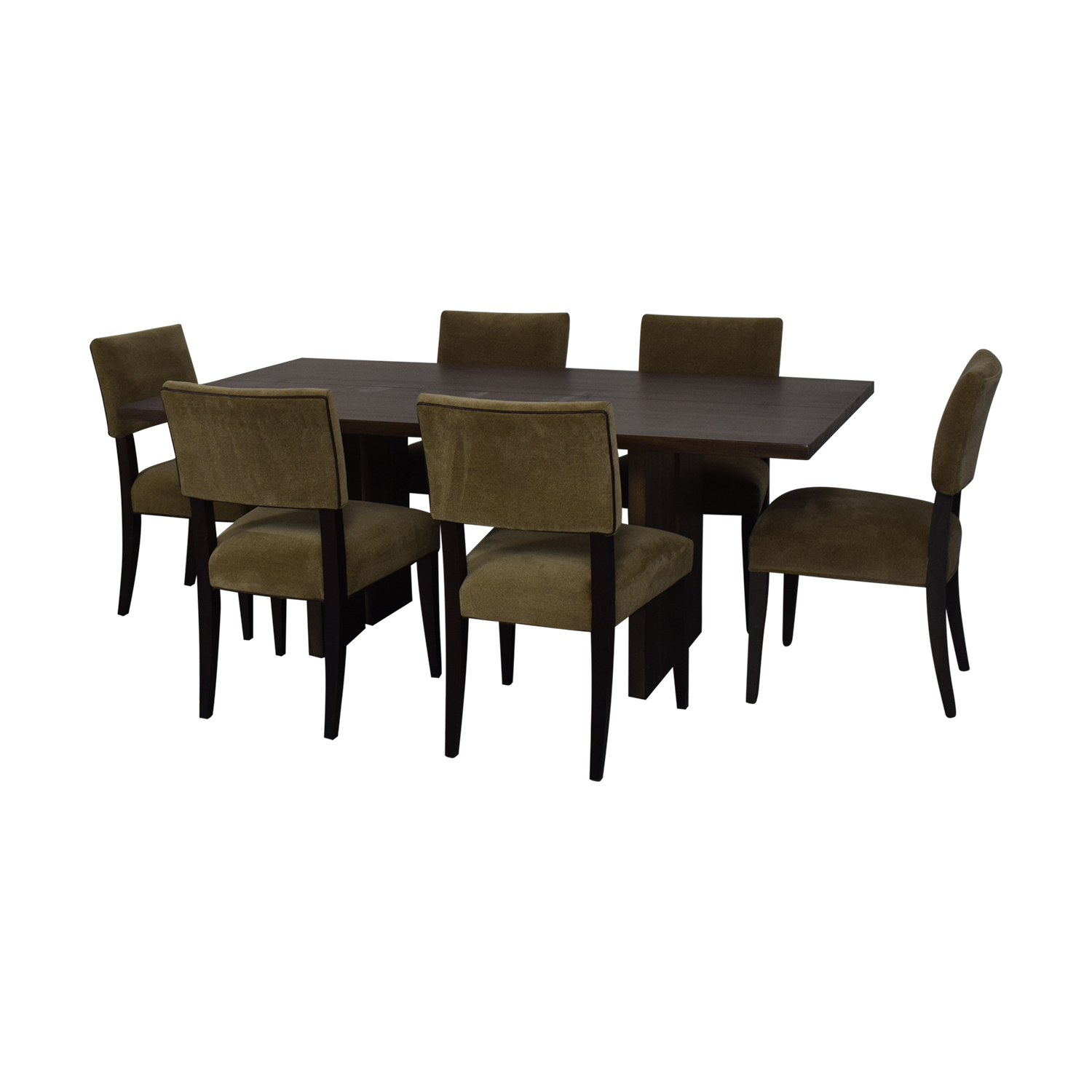 Crate & Barrel Monarch Dining Table and Cody Dining Chairs Crate & Barrel