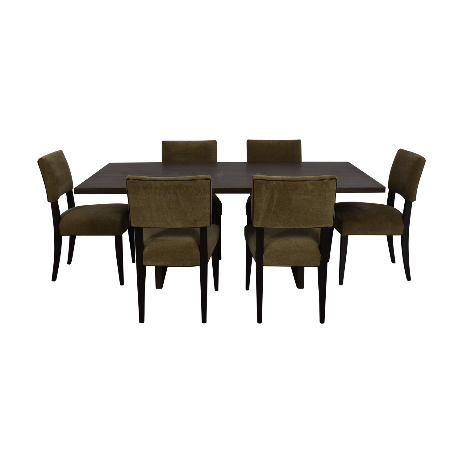 Crate & Barrel Crate & Barrel Monarch Dining Table and Cody Dining Chairs on sale