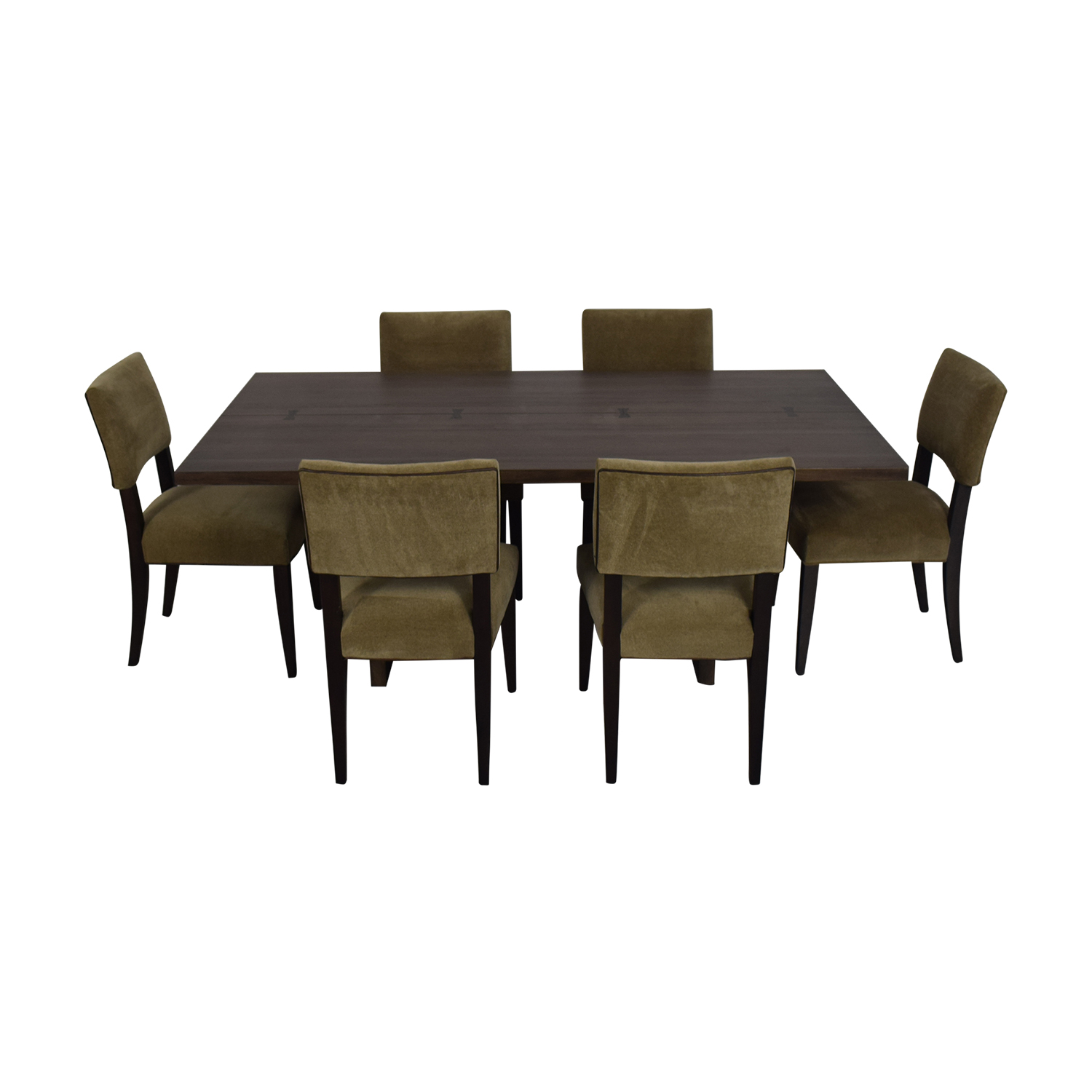 Crate & Barrel Crate & Barrel Monarch Dining Table and Cody Dining Chairs Dining Sets