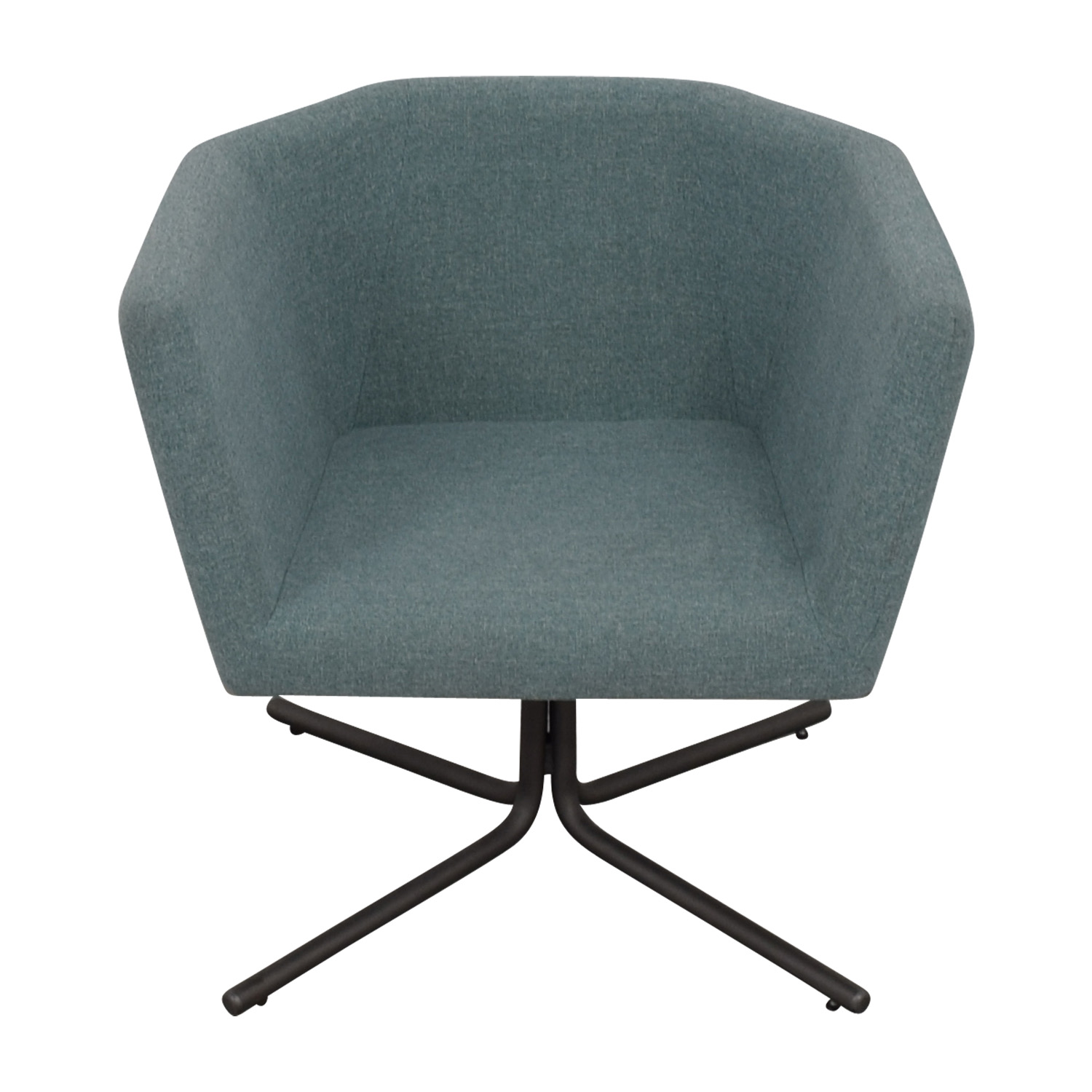 CB2 CB2 Facetta Cyan Chair second hand