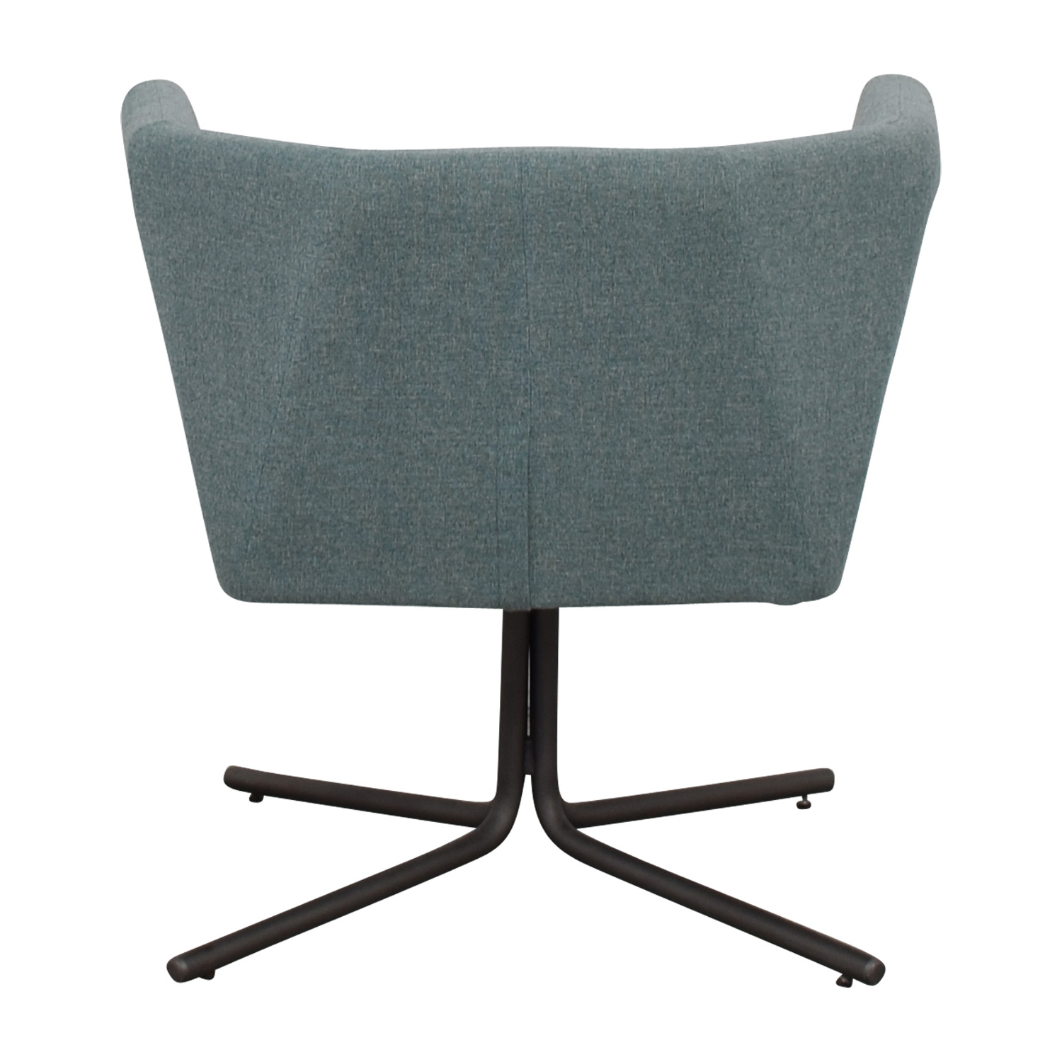 CB2 Facetta Cyan Chair CB2