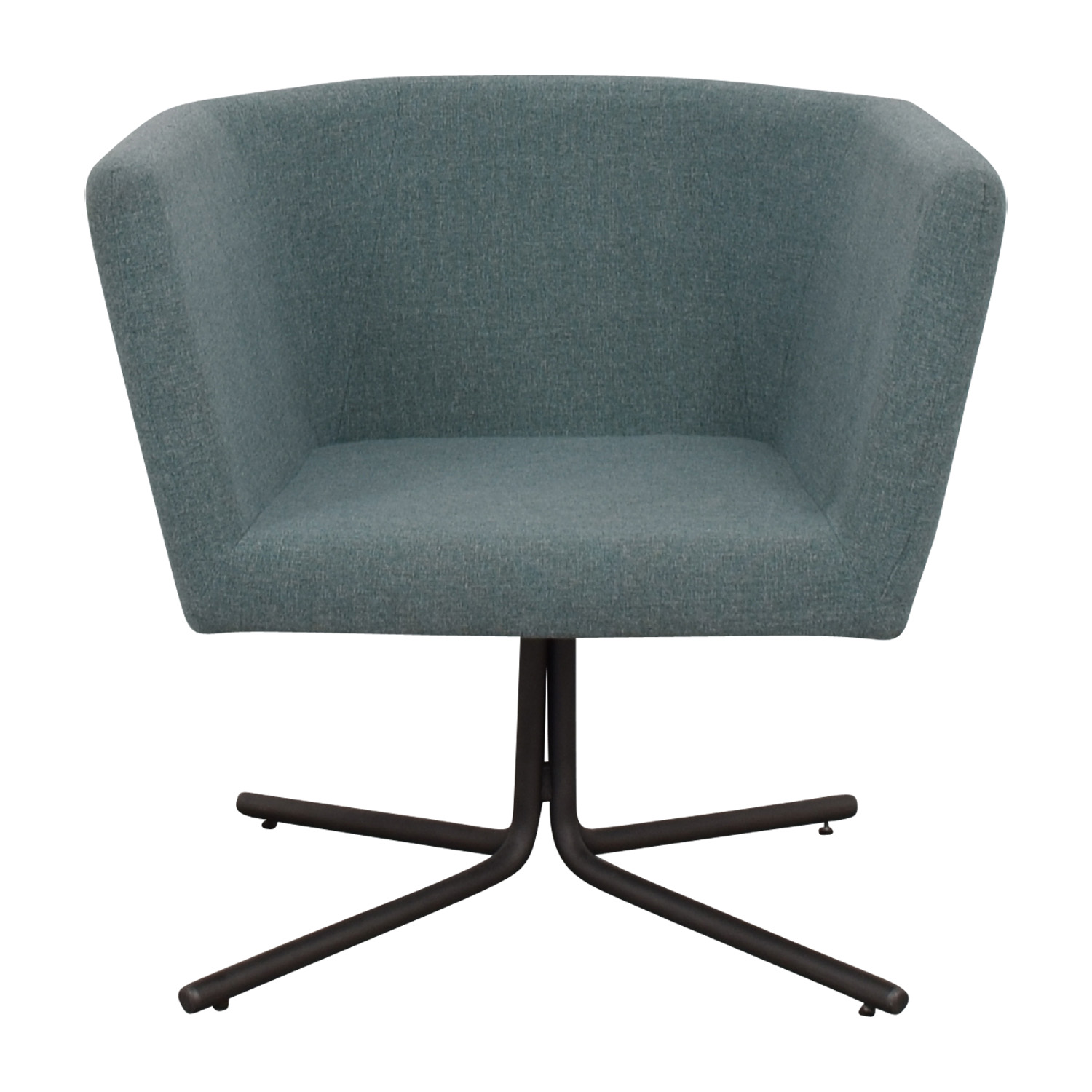 CB2 Facetta Cyan Chair / Accent Chairs