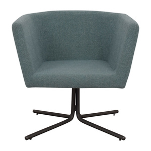 shop CB2 Facetta Cyan Chair CB2
