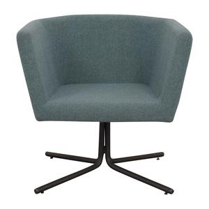 shop CB2 CB2 Facetta Cyan Chair online