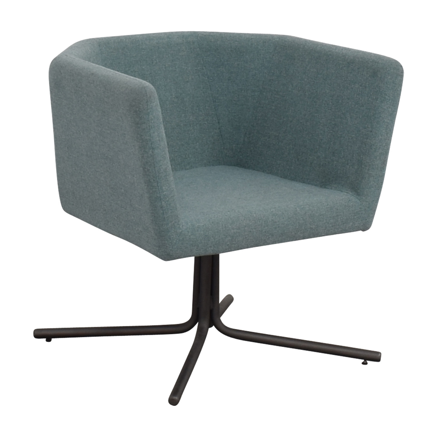 CB2 CB2 Facetta Cyan Chair price