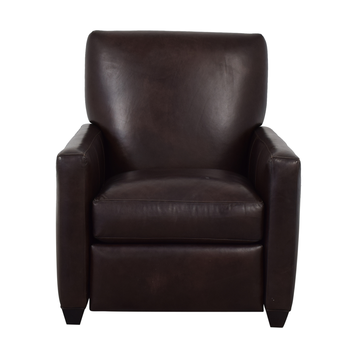 Crate & Barrel Crate & Barrel Brown Recliner discount