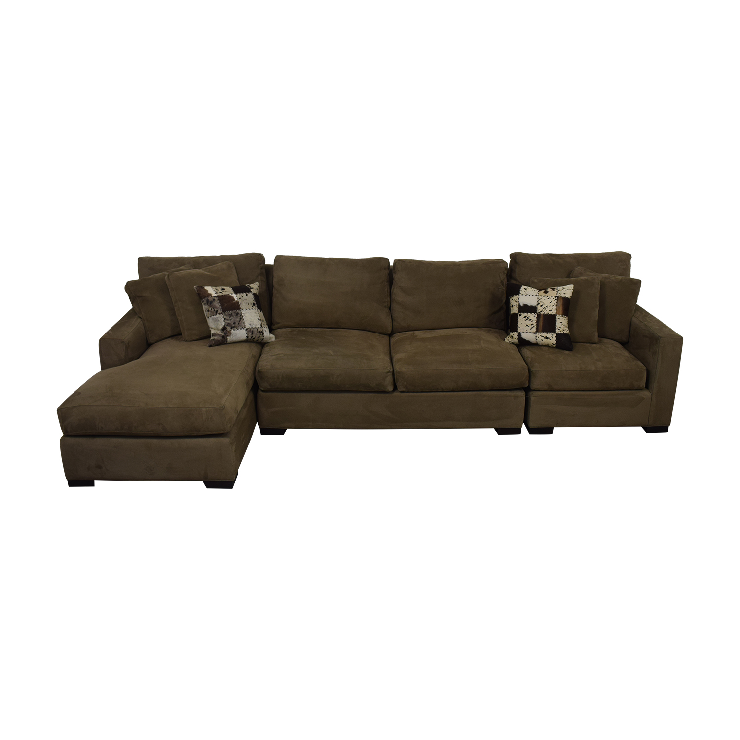 shop Crate & Barrel Axis Sectional Sofa Crate & Barrel Sectionals