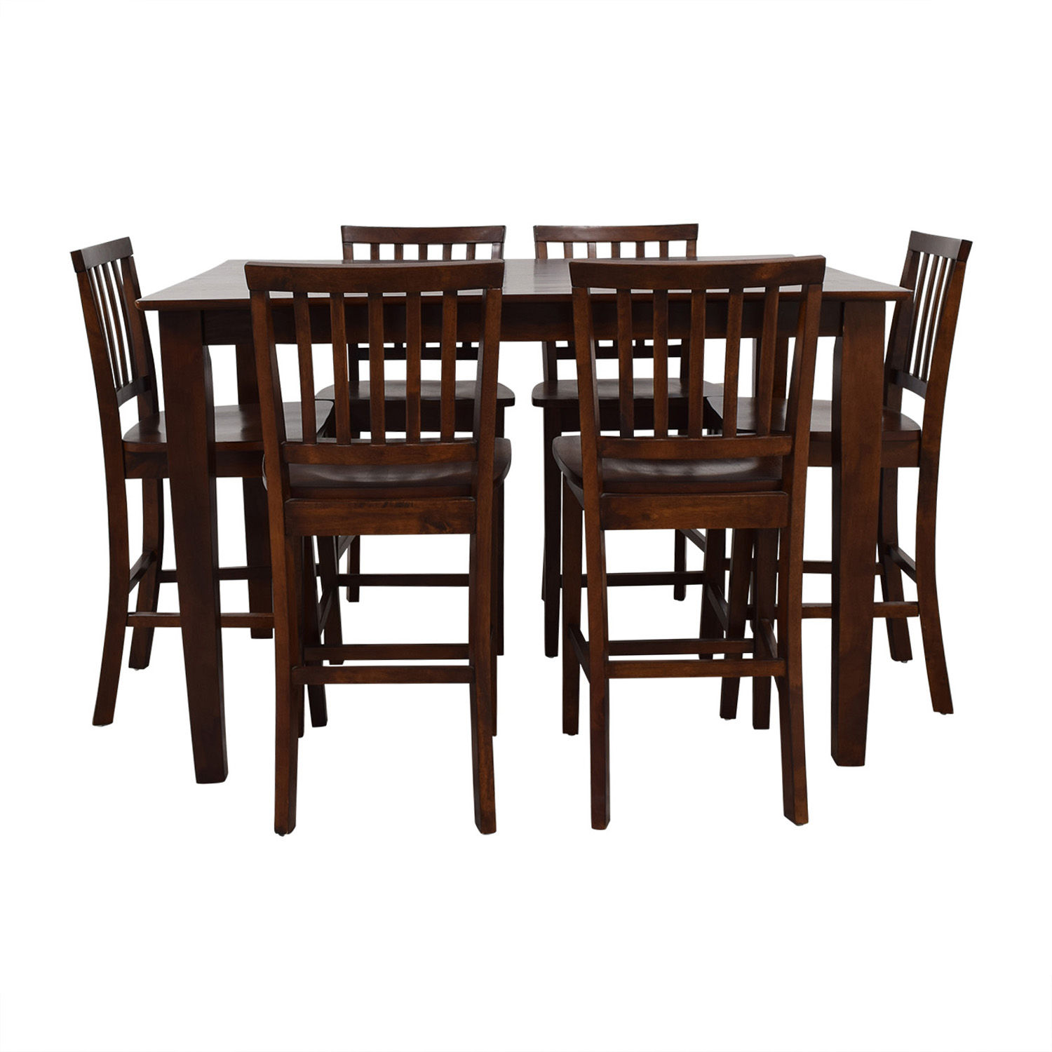 Bob's Discount Furniture Bob's Discount Furniture Extendable Dining Set brown