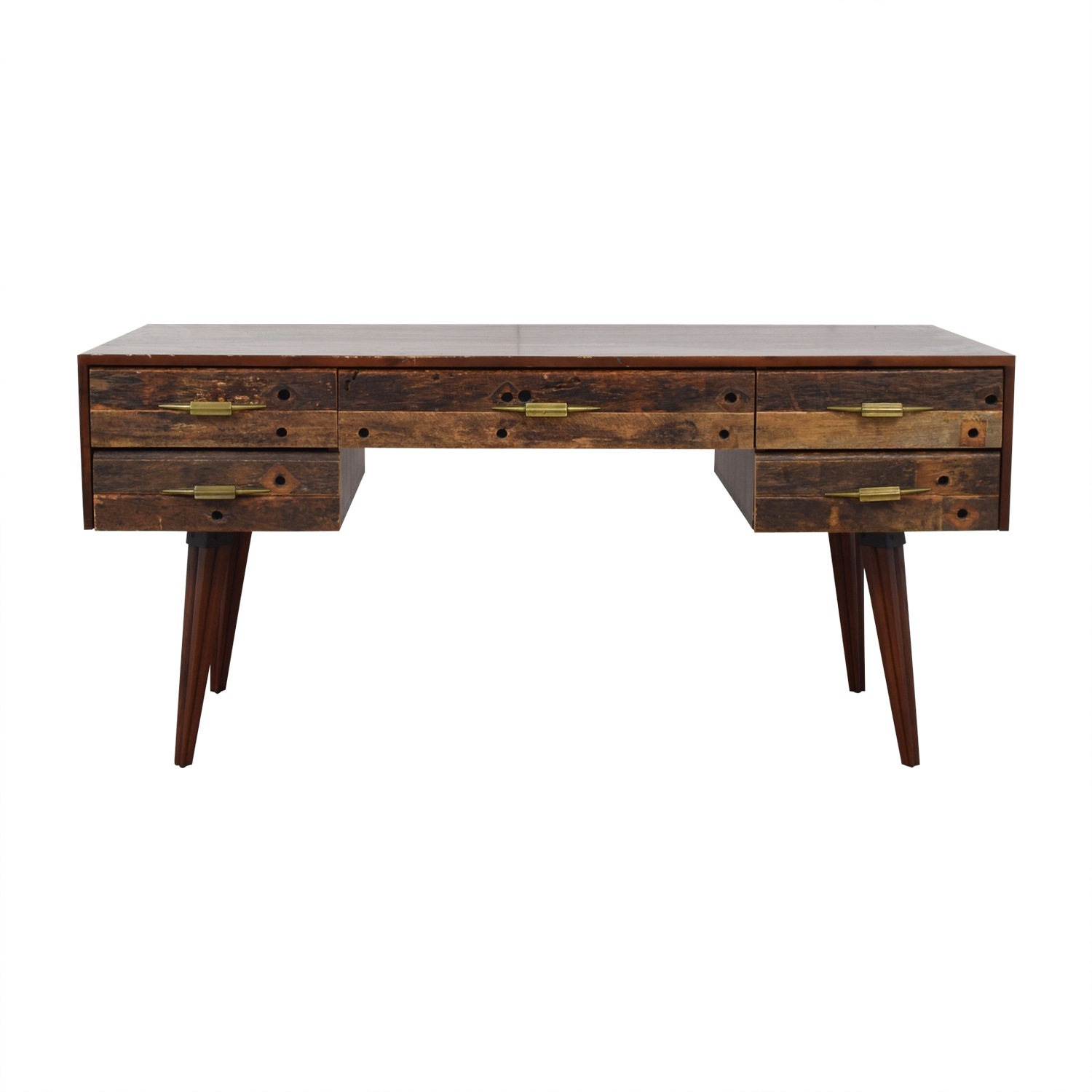 Zin Home Bina Mitchell Rustic Desk price