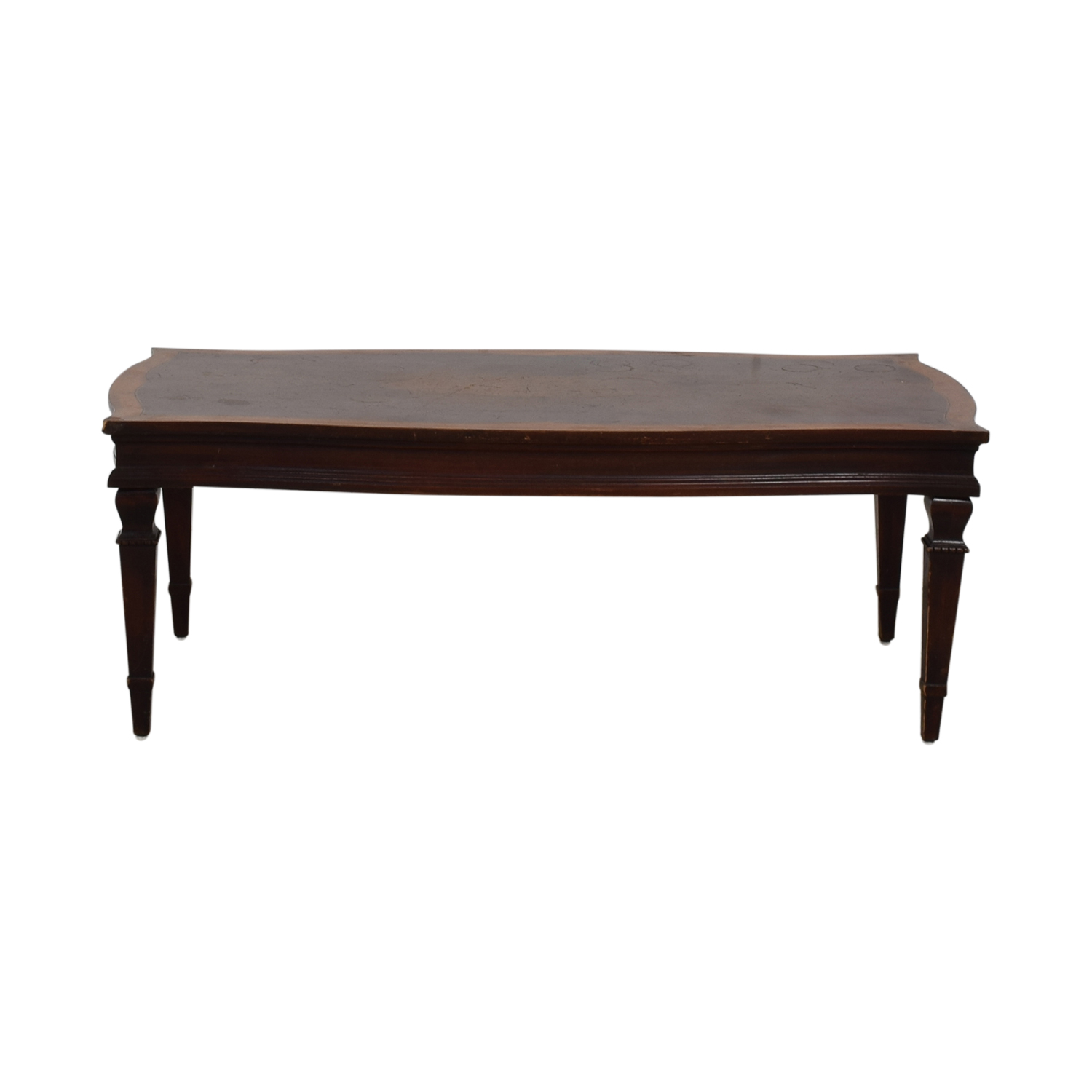 shop Antique Wood Coffee Table  Coffee Tables