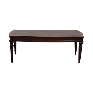 buy Antique Wood Coffee Table