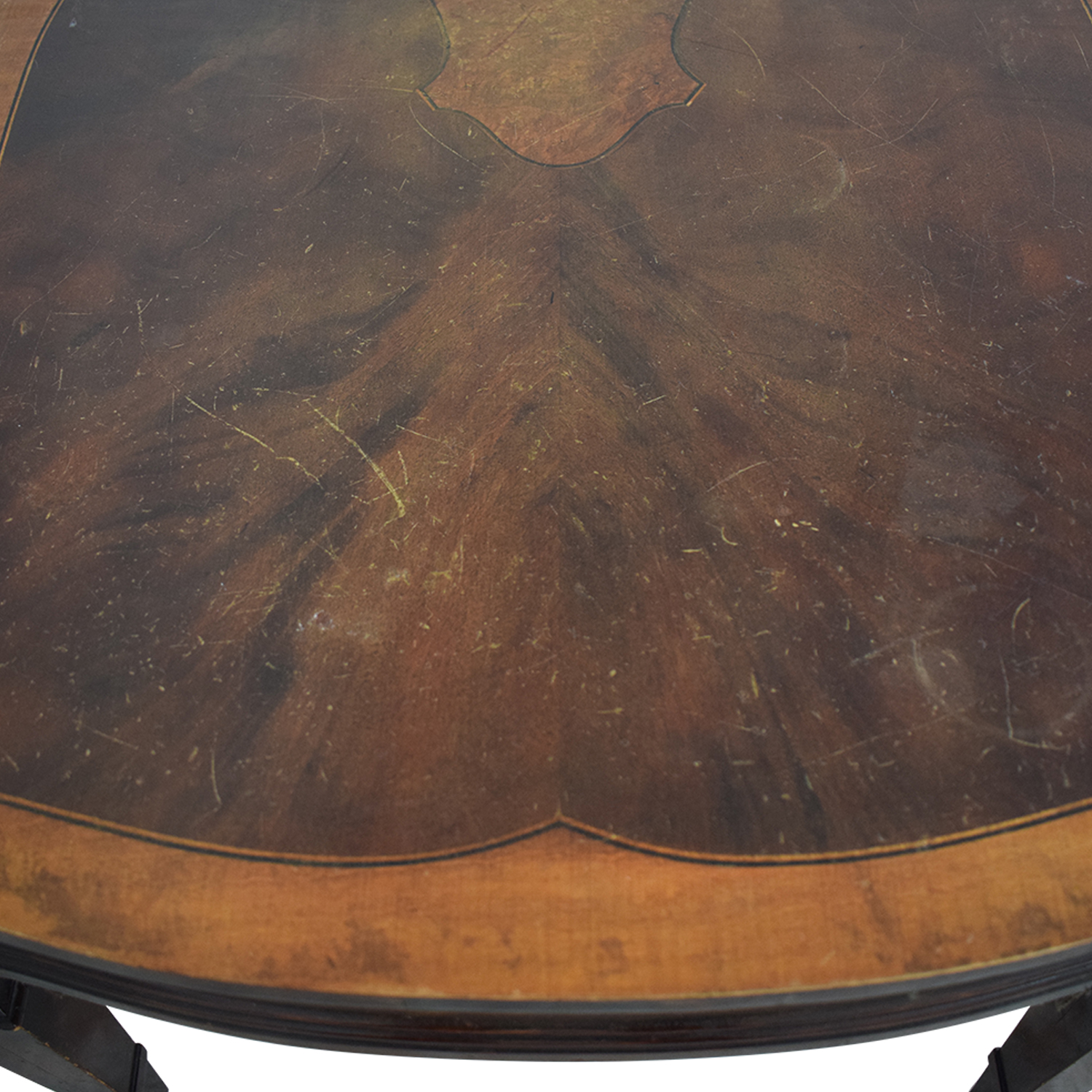 Antique Wood Coffee Table discount