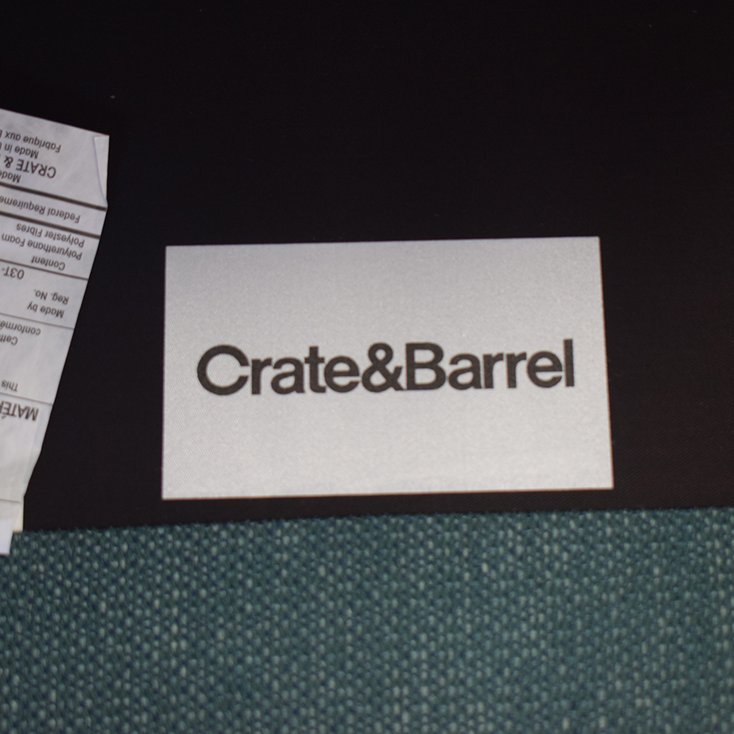 Crate & Barrel Crate & Barrel Gia Button Tufted Accent Chair discount