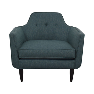 Crate & Barrel Crate & Barrel Gia Button Tufted Accent Chair on sale