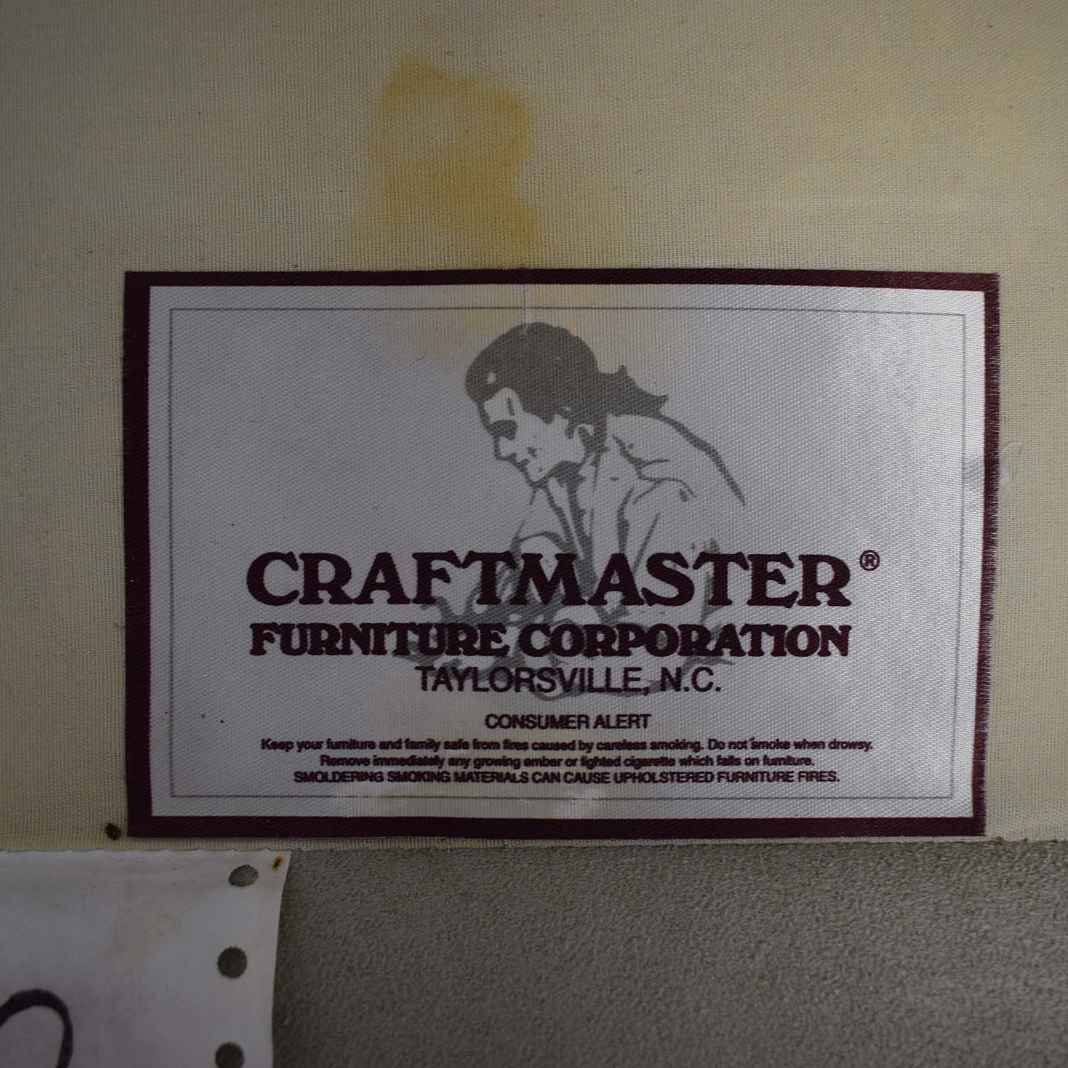 buy Craftmaster Furniture Microsuede Couch and Ottoman Craftmaster Furniture