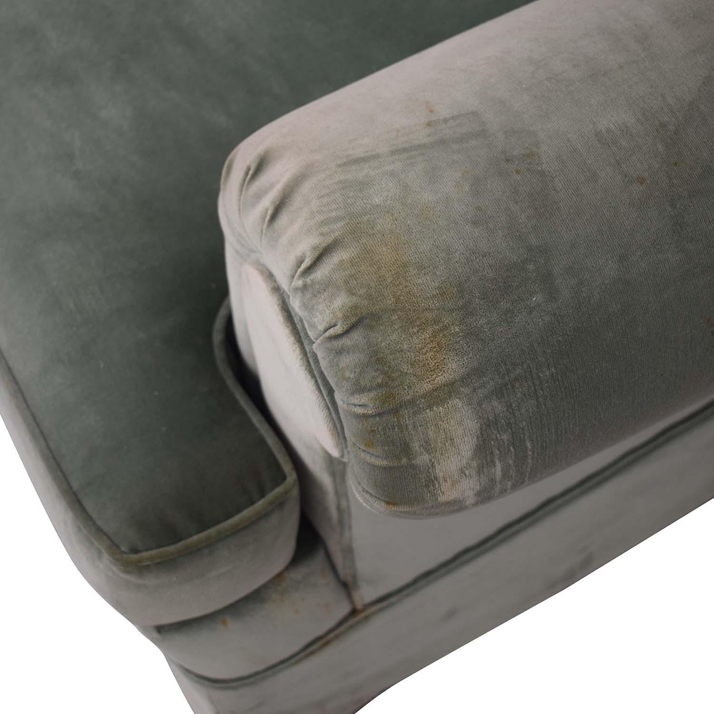 Vintage Green Three-Cushion Sofa coupon
