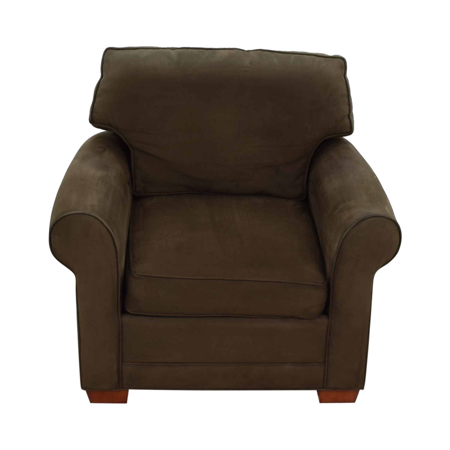Raymour & Flanigan Raymour & Flanigan Brown Microfiber Accent Chair coupon