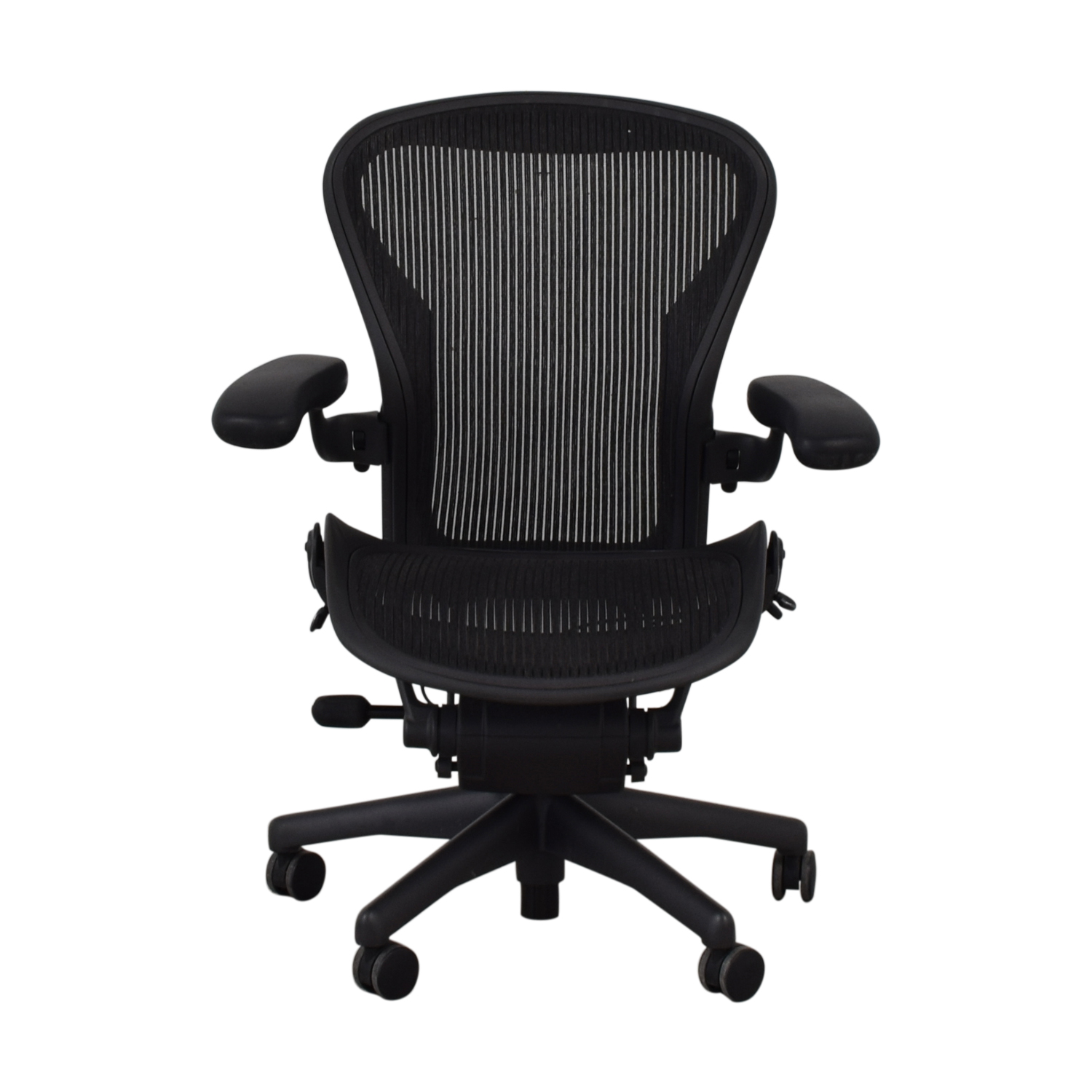 Herman Miller Herman Miller Aeron Size B Black Office Desk Chair Chairs
