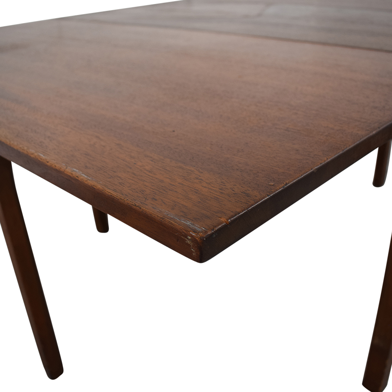 Kittinger Furniture Kittinger Furniture Adjustable Dining Room Table second hand