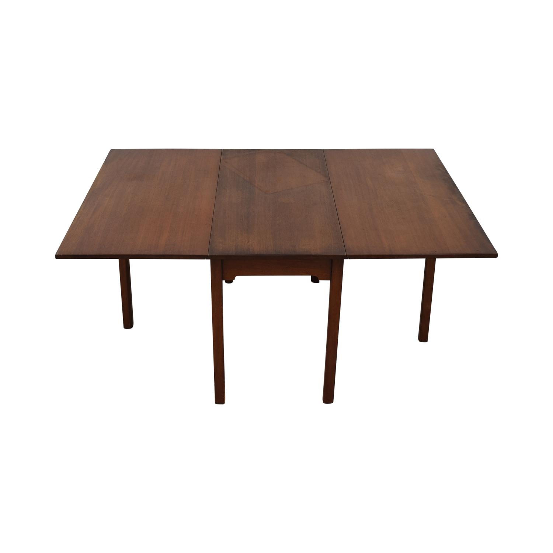 Kittinger Furniture Kittinger Furniture Adjustable Dining Room Table discount