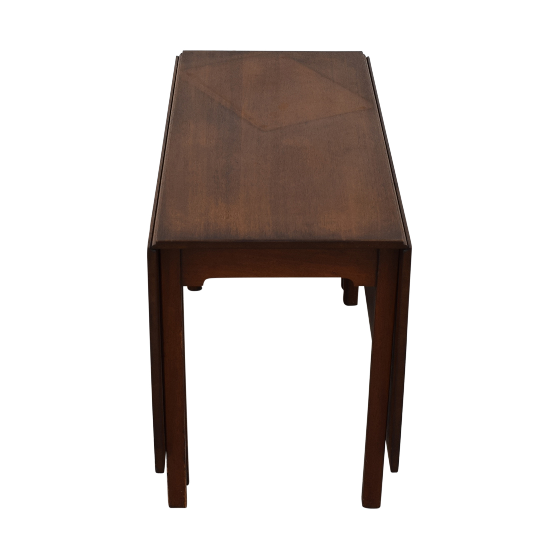 buy Kittinger Furniture Adjustable Dining Room Table Kittinger Furniture Tables
