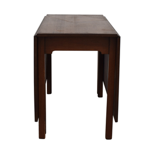 shop Kittinger Furniture Kittinger Furniture Adjustable Dining Room Table online