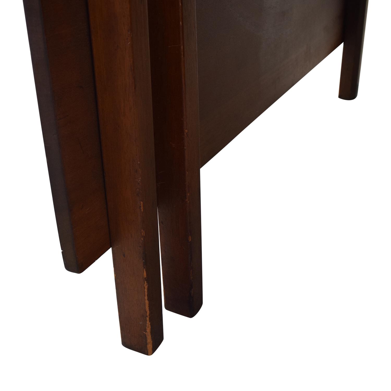 buy Kittinger Furniture Adjustable Dining Room Table Kittinger Furniture Dinner Tables
