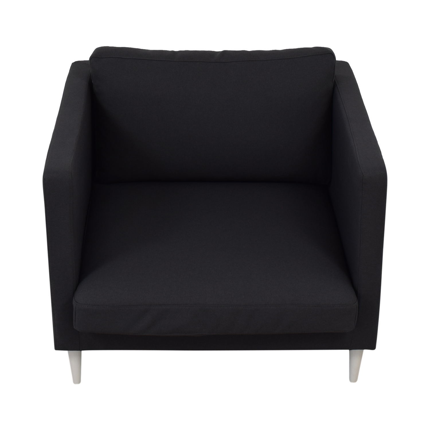 shop Oliver Smoke Structured Cloth Chair Interior Define Chairs