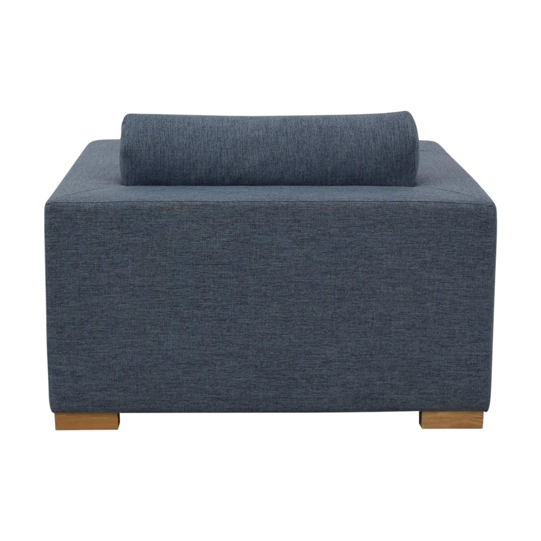 buy Henry Accent Chair Cross Weave Rain Interior Define