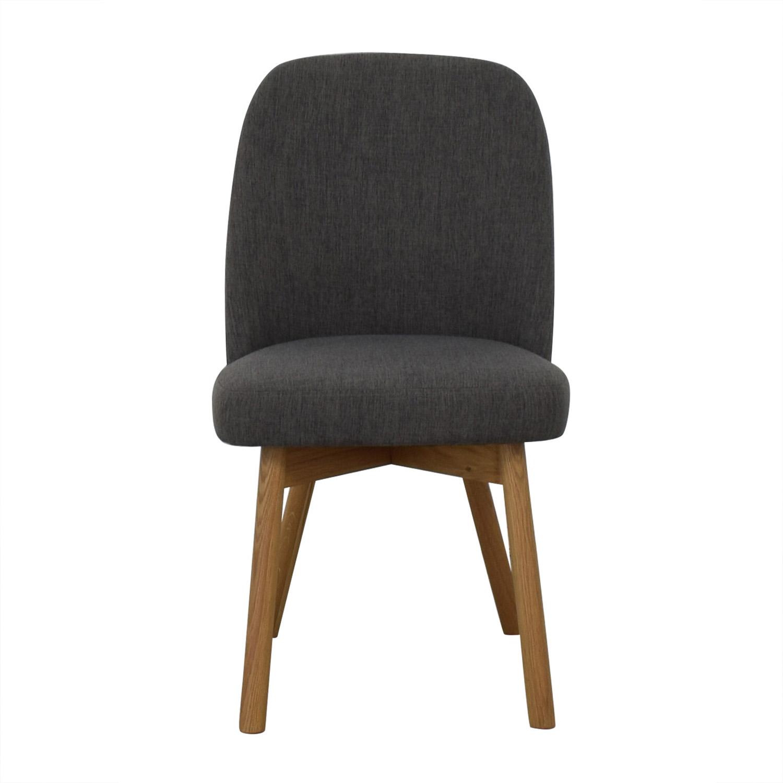 Interior Define Dylan Cross Weave Mushroom Dining Chair nyc