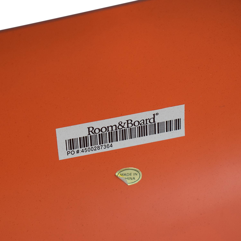 Room & Board Room & Board Orange Chairs discount